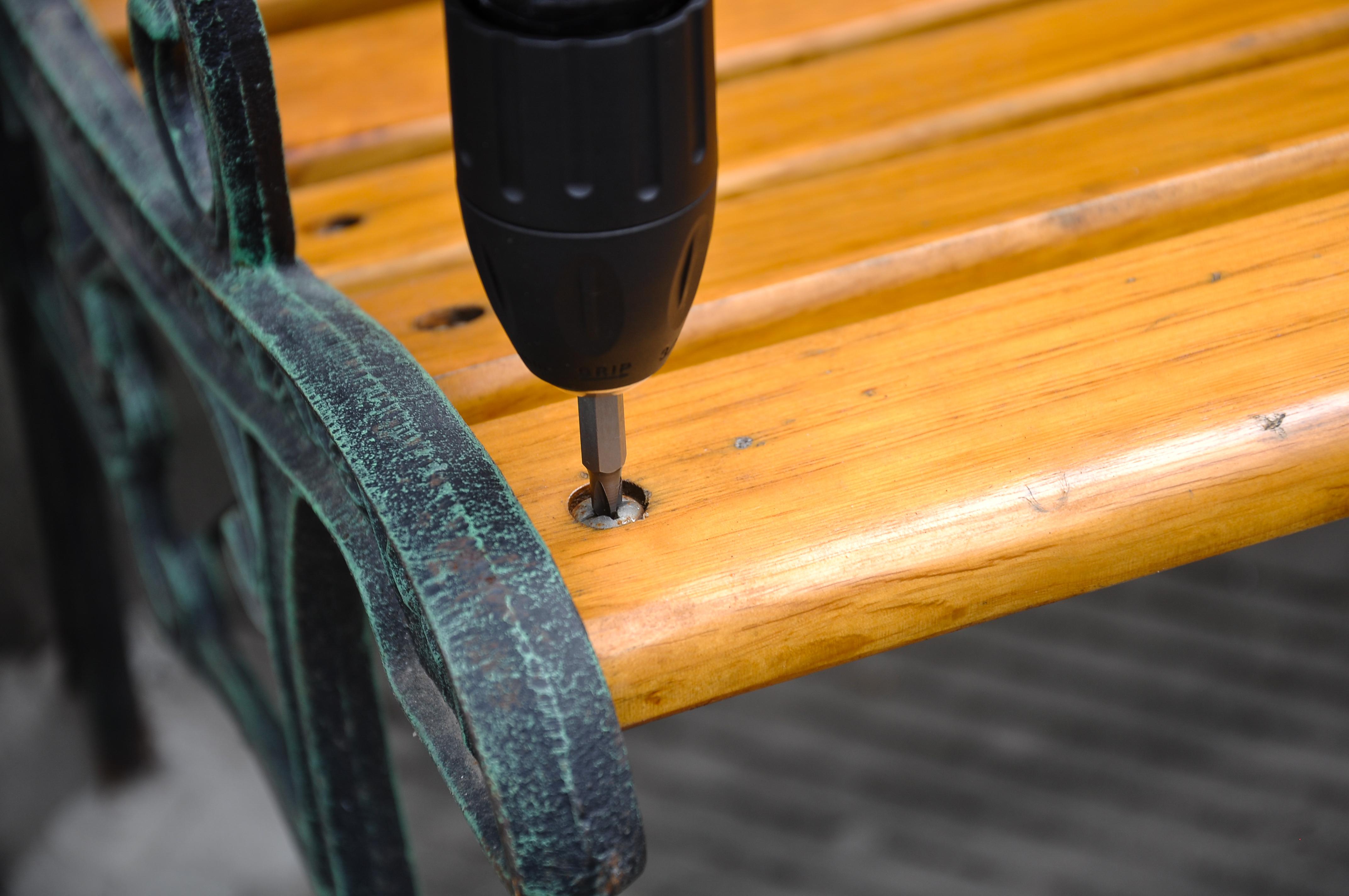 Powerland HD08 Schlagbohrmaschine inkl Schnellladegerät